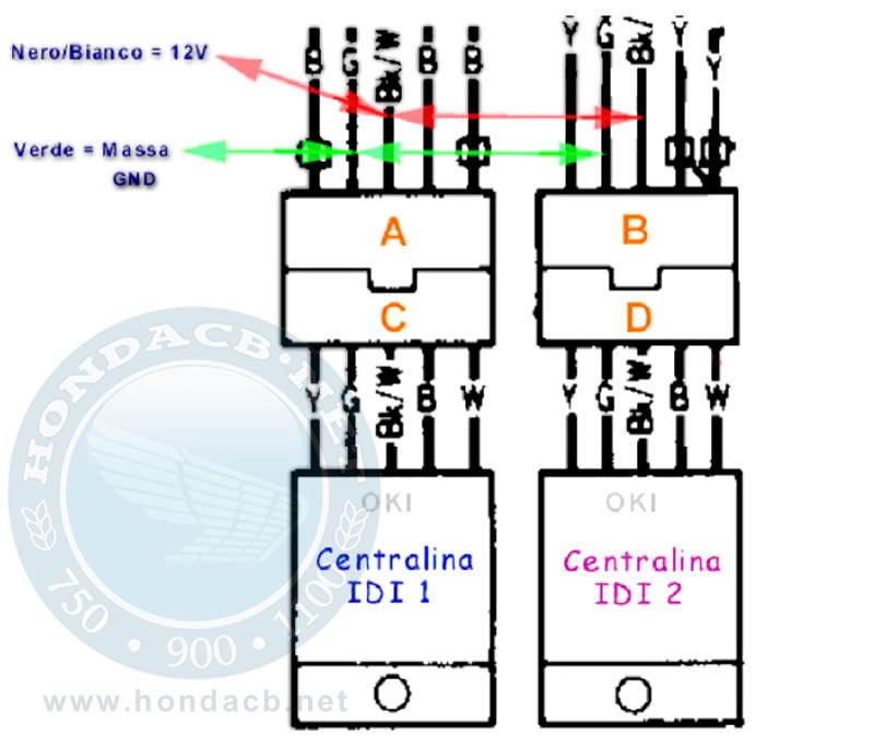 Schema Elettrico Per Doppia Accensione : Modifica accensione per motori honda cb f bol d or dohc