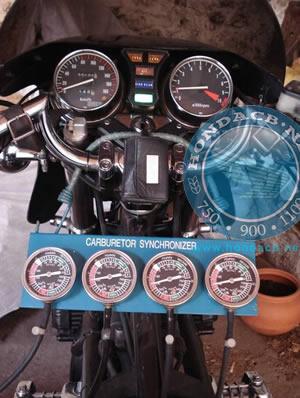 Sincronizzazione dei carburatori