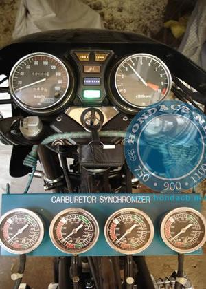 Sincronizzazione carburatori