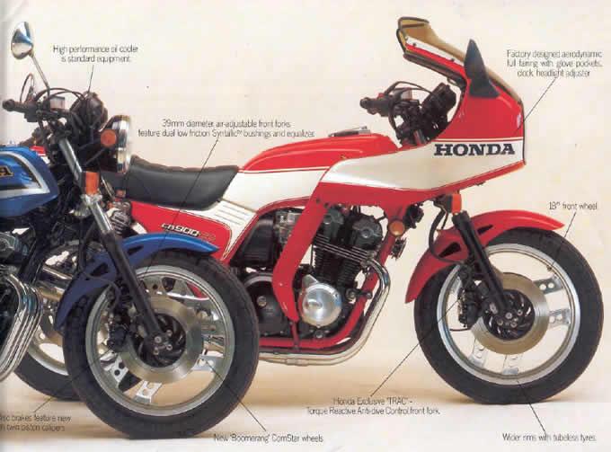 Honda Cb900 FC F2C 1982