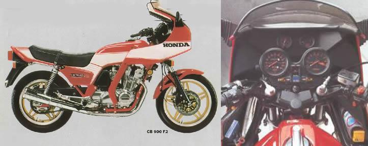 Honda CB900F2 B 1981