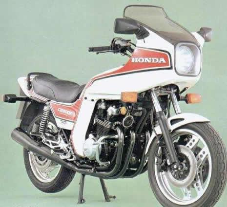 Honda CB900F2D 1983