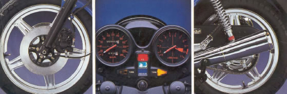 Honda CB 900 F dettagli