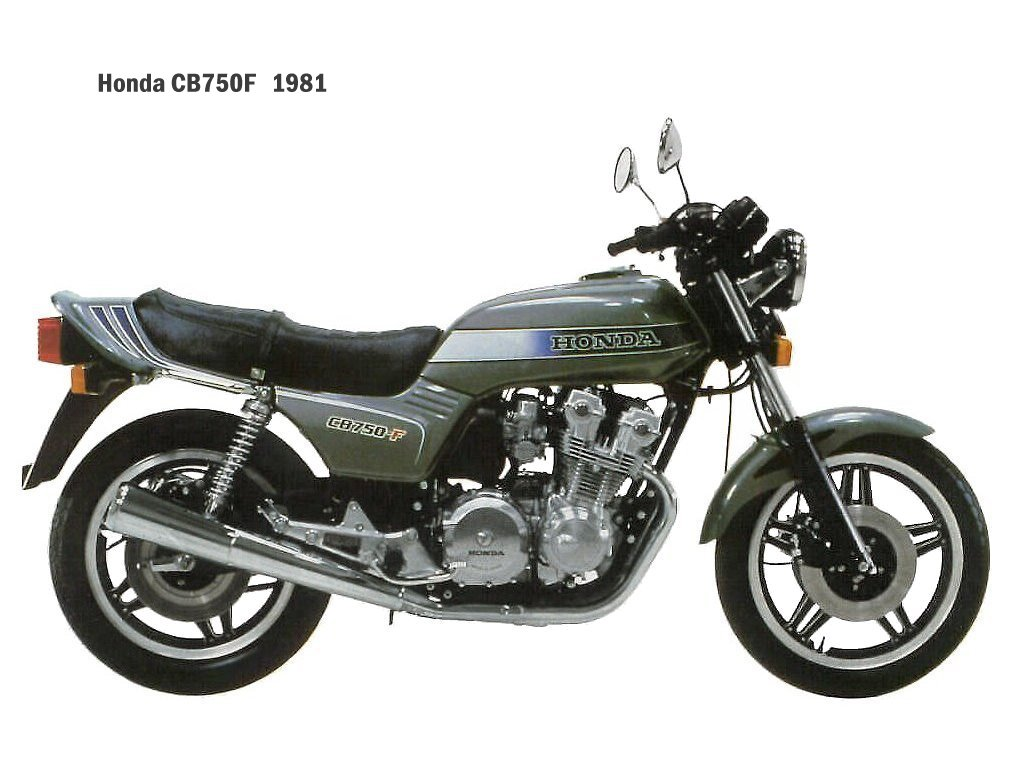 Honda CB750F A 81