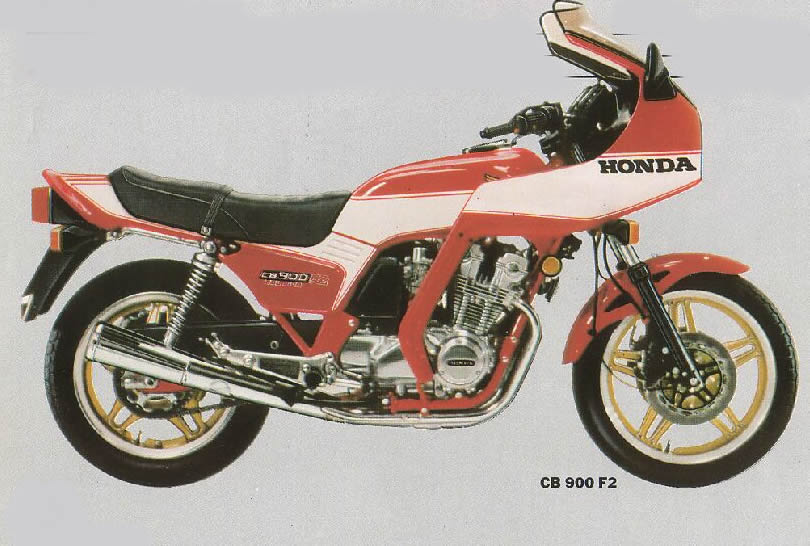 Honda CB900F2 B 81