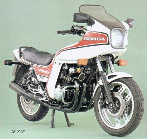 Honda CB750F2 C 83