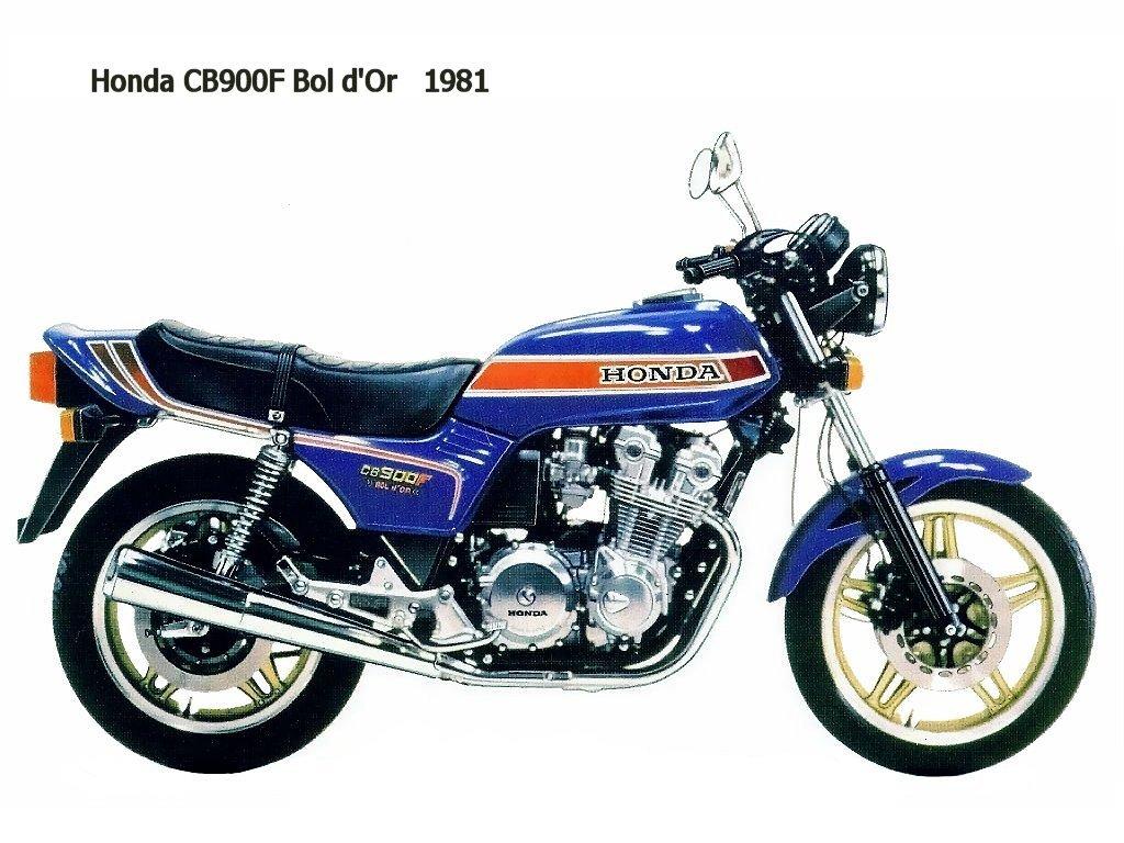 Honda CB900F BoldOr 81