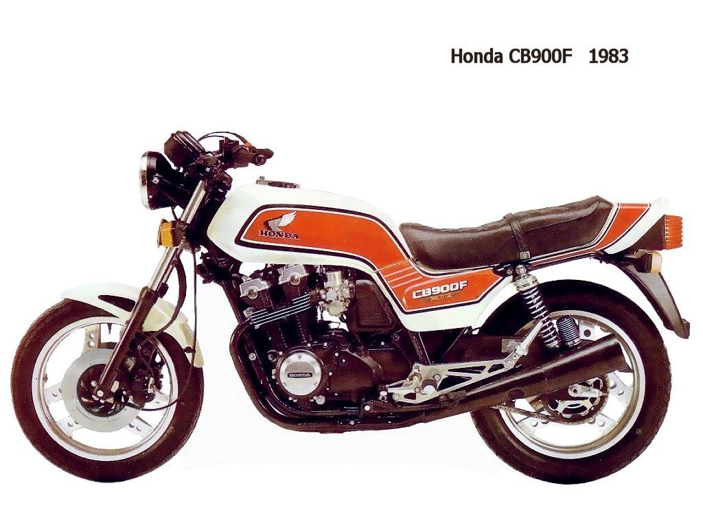 Honda CB900F D BoldOr 83